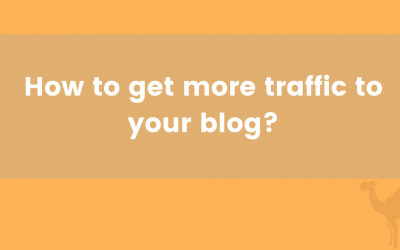 How to get more traffic to your blog?