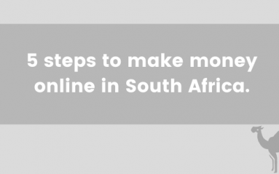 Affiliate Marketing – Make money online in South Africa