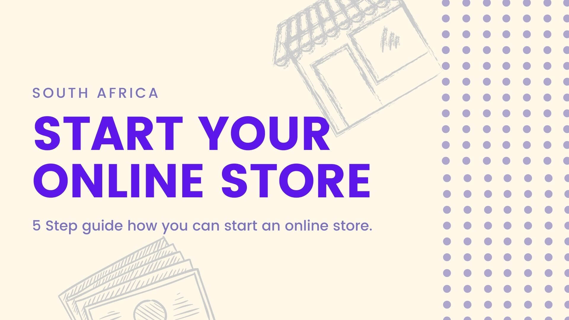 Start an online store in South Africa