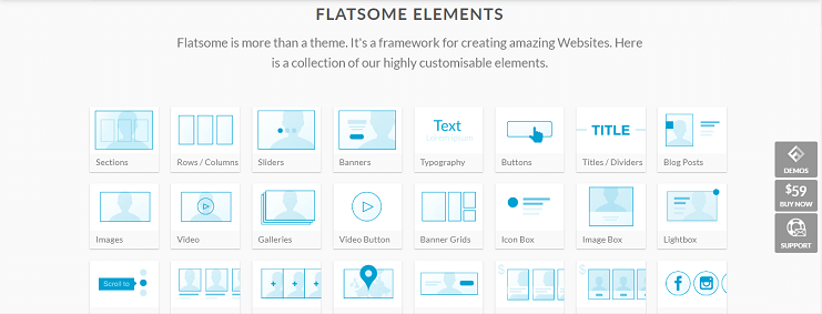 Flatsome theme library