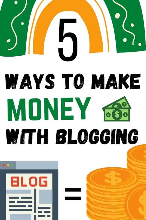 how to make money with blogging in South Africa