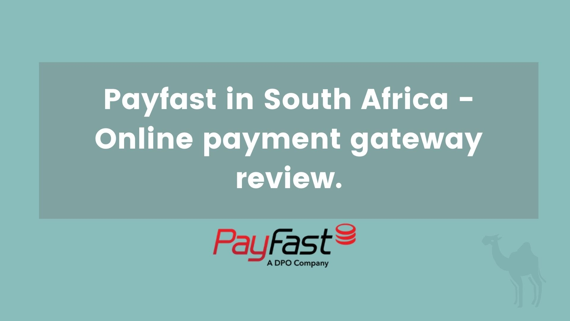 Payfast South Africa